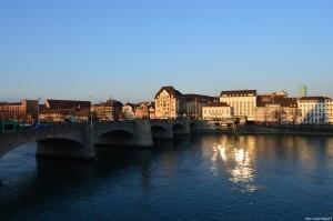 Basilea, panoramica sul fiume