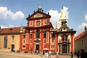 Praga, la Basilica di San Giorgio