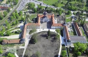 Ungheria, il Palazzo Reale di Godollo, veduta aerea
