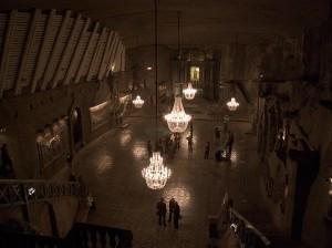 Wieliczka, Cappella nella Miniera di Sale