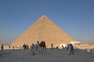 La grande Piramide di Cheope in Egitto