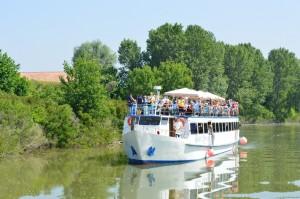 Mantova, navigazione sul fiume Mincio