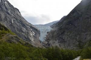 Norvegia, Briksdal ghiacciaio