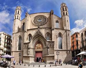 Basilica di Santa Maria del Mar a Barcellona
