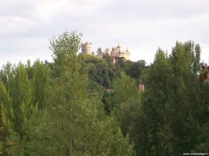 Rocchetta Mattei, panoramica