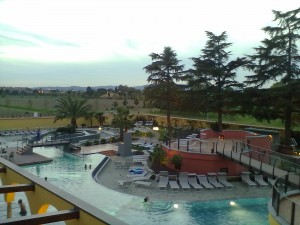 Centro Benessere Asmana, piscine e sauna esterna