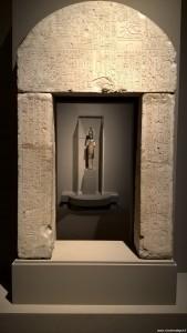 Bologna, Mostra Egizi, Portale di Userhat