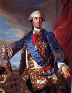 Luigi XV, ritratto di Charles-André van Loo