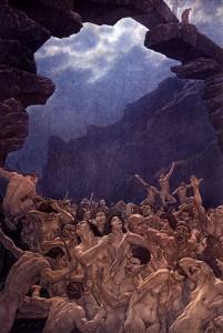 Amos Nattini, Divina Commedia, Inferno, Canto XVIII