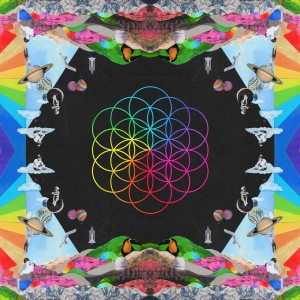 A head full of dreams, Coldplay, copertina CD