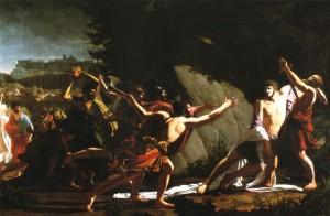 La morte di Gaio Gracco in un dipinto di Jean Baptiste Topino-Lebrun, 1792