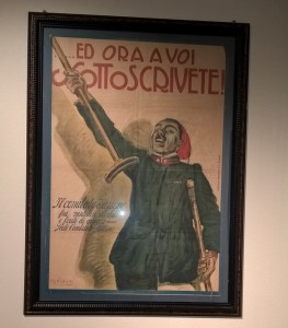 Aroldo Bonzagni, illustrazione patriottica