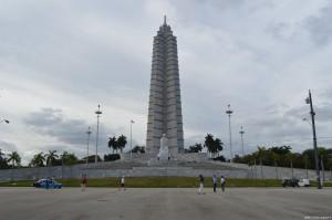 Cuba, L'Avana, Piazza della Rivoluzione, monumento a José Mardì