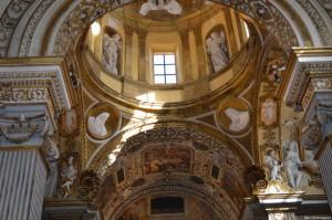 Fano, decorazioni barocche nella Chiesa di San Pietro in Valle