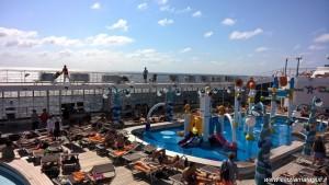 MSC Opera, crociera ai Caraibi, area piscine