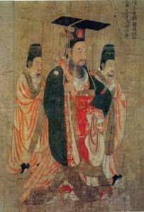 Imperatore Sui Wendi che lanciò il progetto del Gran Canale