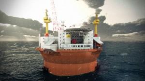 Goliat, piattaforma petrolifera dell'ENI nel Mar Glaciale Artico
