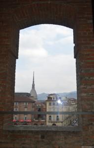 Palazzo Madama, vista della Mole dalla Torre panoramica