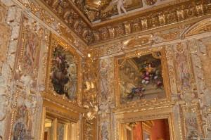 Palazzo Reale Torino, decorazioni in una sala