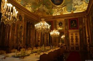 Palazzo Reale Torino, sala da pranzo