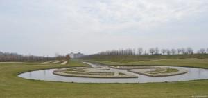 Residenze sabaude, Reggia Venaria Reale, panoramica dai Giardini