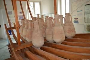 San Benedetto del Tronto, Museo del Mare, come venivano trasportate le anfore