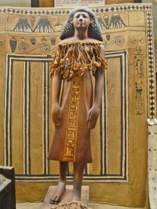 Tomba di Kha, statuetta raffigurante Kha, Museo Egizio di Torino