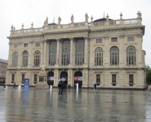 Torino, Palazzo Madama, facciata ingresso