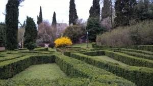 Villa Spada Bologna, giardino all'italiana