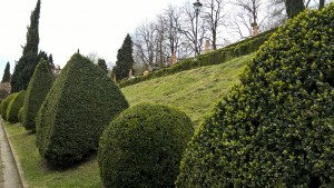 Villa Spada Bologna, giardino