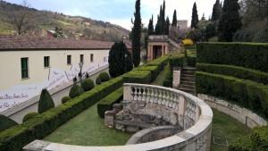 Villa Spada, Giardino e Biblioteca comunale