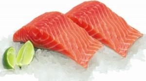 Filetti di salmone ricchi di Omega-3