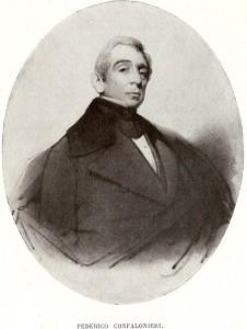 Federico Confalonieri in un ritratto