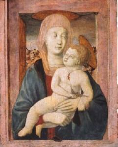 Piero della Francesca, Madonna col Bambino (1435)