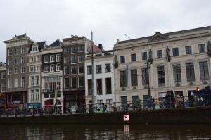 Amsterdam, veduta in navigazione
