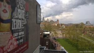 Amsterdam, panoramica dal Museo Van Gogh, in vista Rijksmuseum