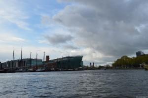 Amsterdam, zona antico porto, Museo della Scienza e della Tecnica di Renzo Piano
