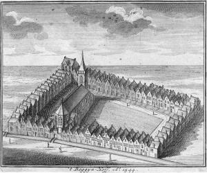 Amsterdam, Begijnhof nel 1544