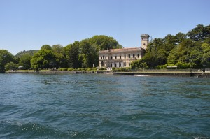 Lago di Como, Cernobbio, villa Erba