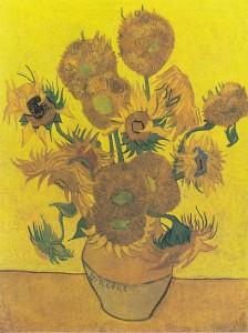 Vincent Van Gogh, I girasoli, versione esposta al Museo Van Gogh di Amsterdam