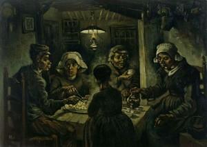 Vincent Van Gogh, I mangiatori di patate, Museo Van Gogh Amsterdam