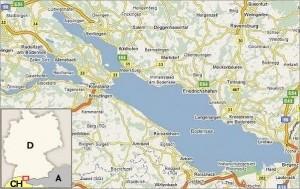 Lago di Costanza mappa