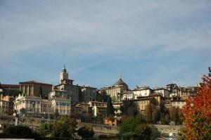 Bergamo Alta, panoramica