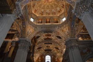 Bergamo Alta, Basilica di Santa Maria Maggiore, interno