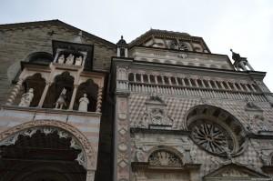 Bergamo Alta, Mausoleo Colleoni addossato alla Basilica di Santa Maria Maggiore