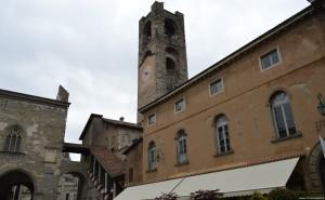 Bergamo Alta, la Torre Civica detta il campanone