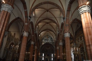 Verona, il Duomo, interno