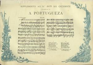 A Portuguesa, spartito