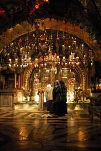 Gerusalemme, Basilica del Santo Sepolcro, Calvario