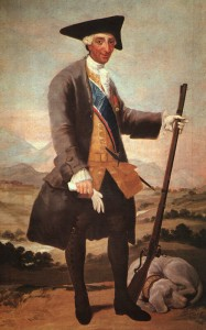Ritratto di Carlo III, quadro di Goya